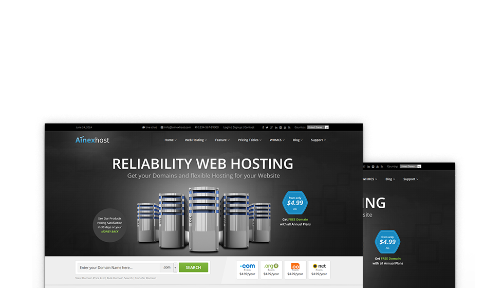 Reliable & Fast Respond Server for Your Business